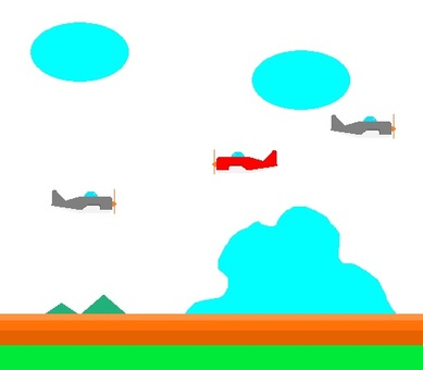 8 bit airplane game