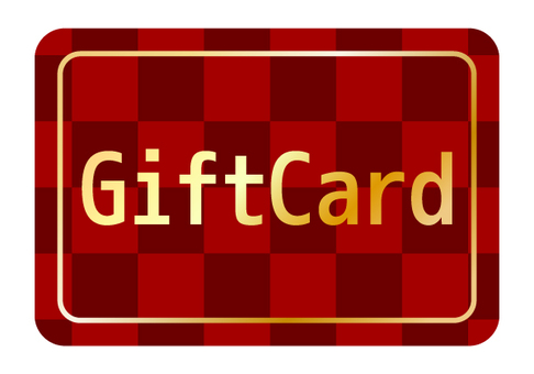 1 gift card (red)