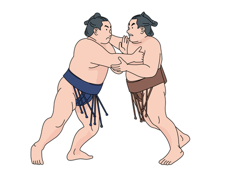 Initiatives of sumo wrestlers 1