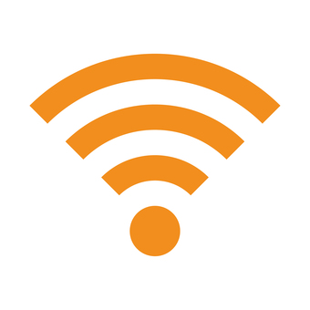 wi-fi mark (orange)