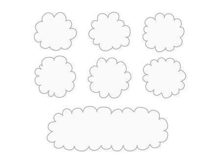Speech balloon / cloud / simple