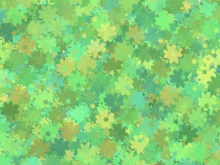 Four leaf clover (green)