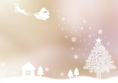 Christmas _ Santa _ pale background