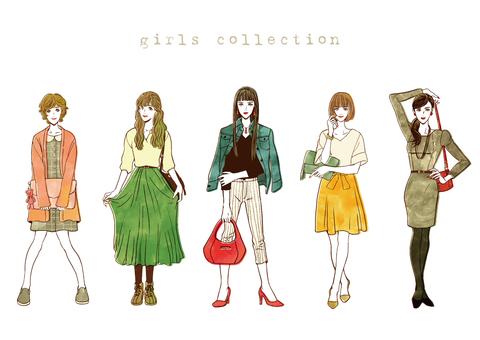 Female fashion color ver.
