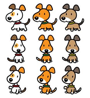 Dog 3 x 3