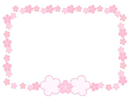 Sakura frame and class frame