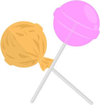 棒棒糖糖果