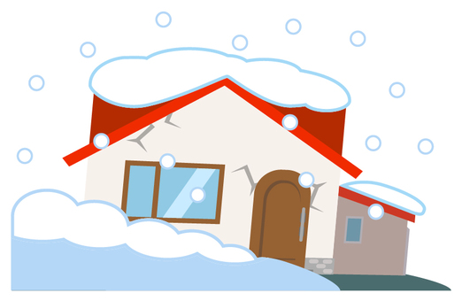 Snow damage _ heavy snow _ housing