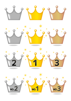 Ranking crown set
