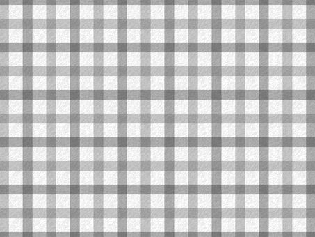 Gingham check (achromatic)
