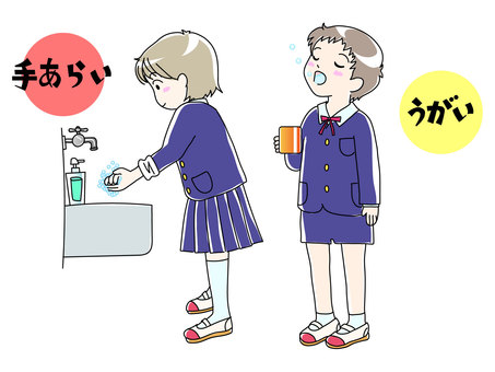 Hand washing gargle CS2