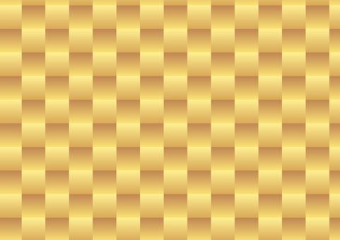 Lattice handle gold