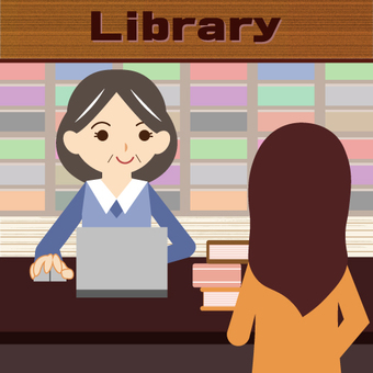 Working woman (Library librarian)