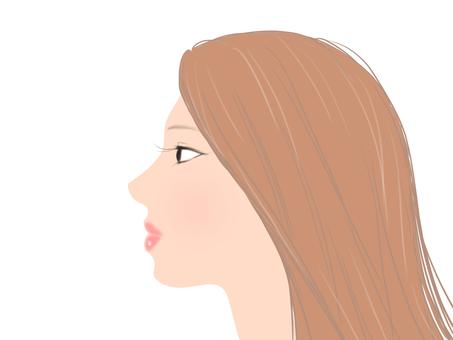 Female profile