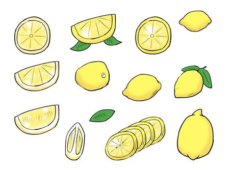Lemon cut lemon