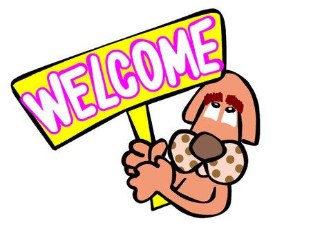 개 로그인 welcome