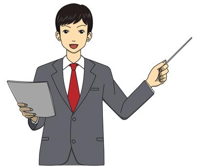 Presentation (male)