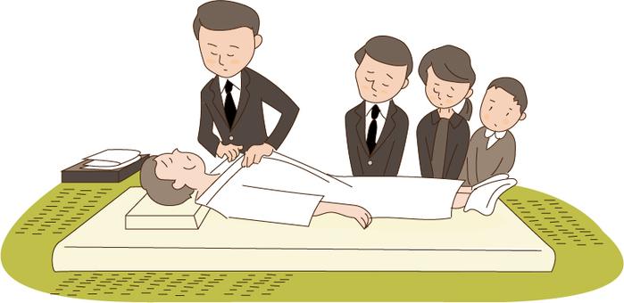 Funeral illustration