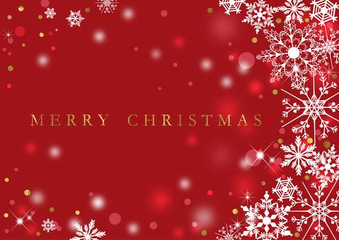 クリスマス_赤_背景2311