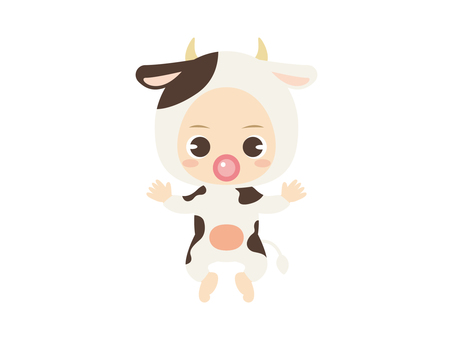 B060_baby clothes baby_bovine
