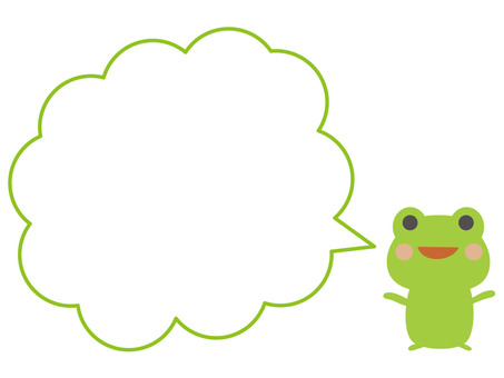 Frog (speech bubble)