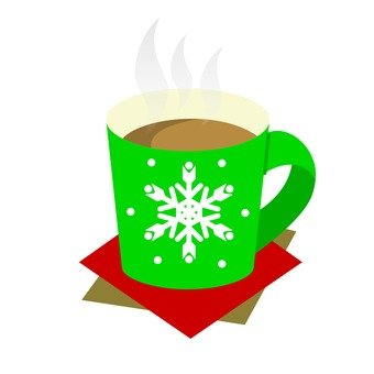 Hot drink (green)