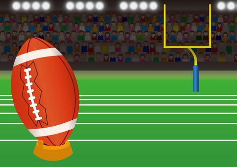 American football A01