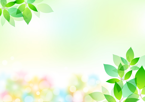 Fresh green material 18