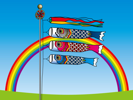 Rainbow and carp streamers