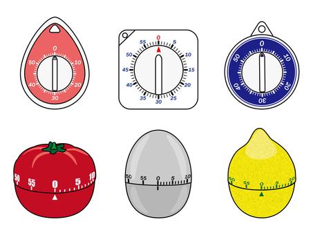 Kitchen timer / analog