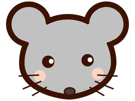 Cute mouse faces