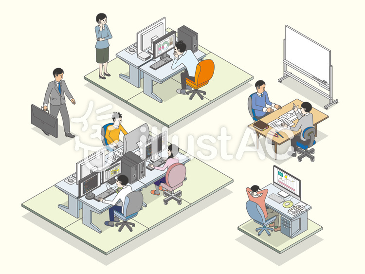 office_02のイラスト
