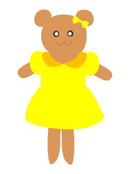 Fashionable bear san 3