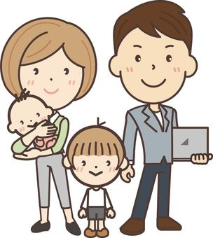 Freelance family's whole picture