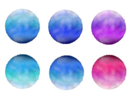 Circular, gradient, background