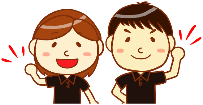"Polo shirt male and female ""black"""