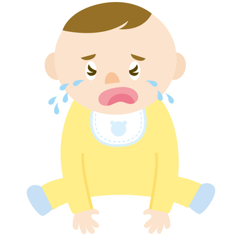 Baby crying (boy)