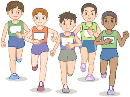 Marathon player B