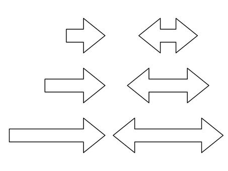 Arrow _ Line (Line drawing)