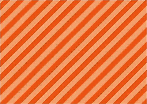 Diagonal stripe orange