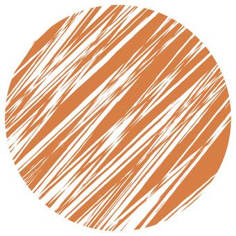 Scratch Round _ Brown _ v 8