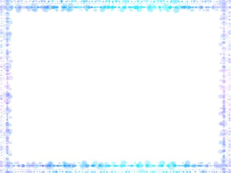 Dot frame 8 (blue series)