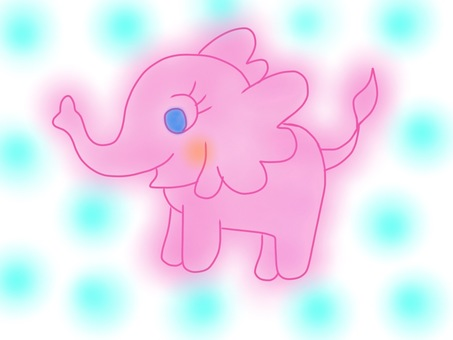 Fluffy elephant