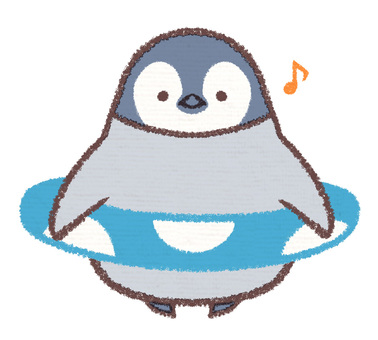 Floating Ring Penguin Hina