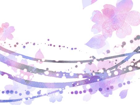 Background material Sakura 7