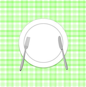 음식 접시