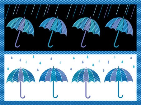 Umbrella background pattern 3