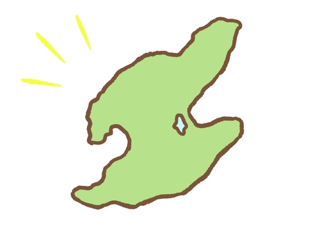 Map of Sado Island