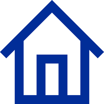 House _ Icon _ 01 _ Blue