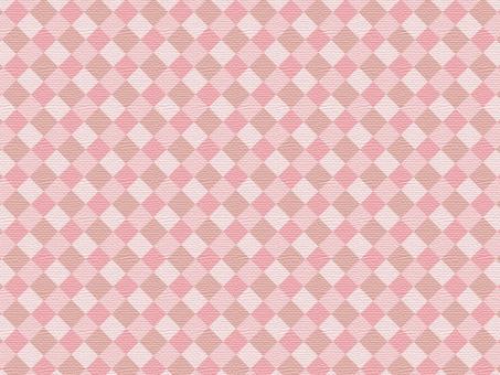 鑽石花紋織物像粉紅色系列